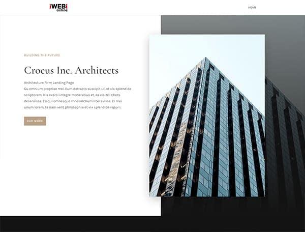 Landing-Page-iwebi.online-exemle-architect