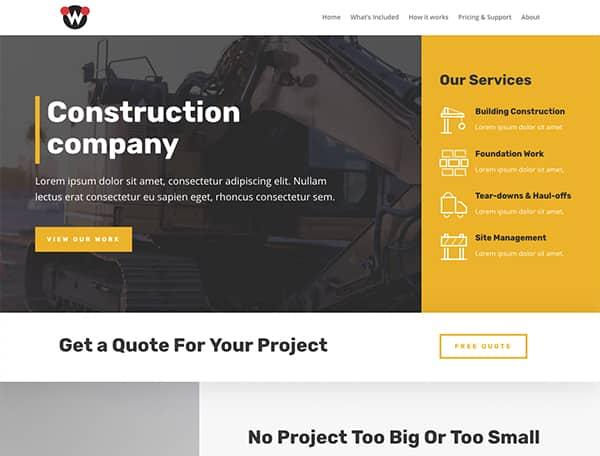 website-constraction