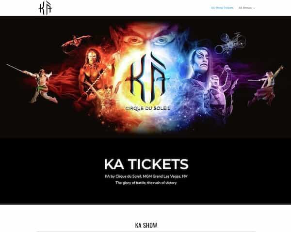KA Show tickets