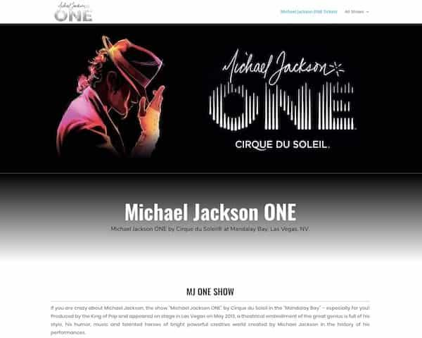 MJ tickets