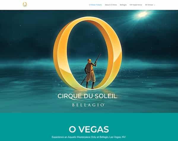 O-Vegas tickets