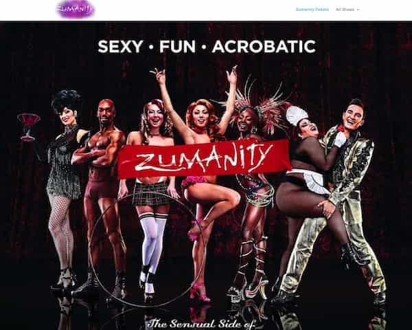 Zumanity -tickets